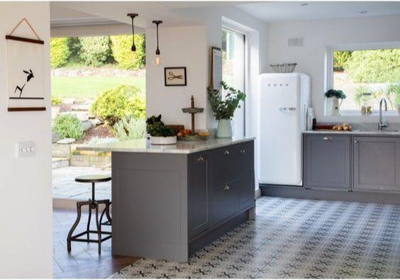 decoralinks   cocina open space en casa de campo