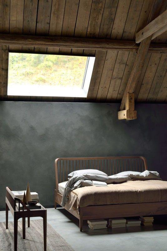 decoralinks | dormitorios nordicos - cama Spindle de Ethnicraft