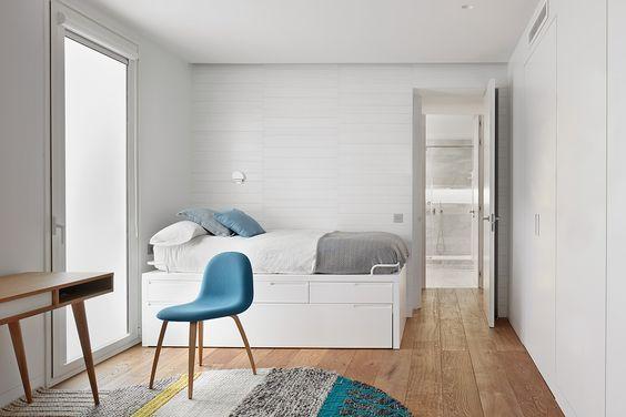 decoralinks | dormitorio con cama nido y alfombra Mangas