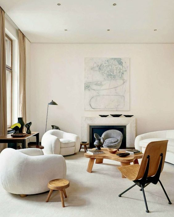 decoralinks | mid century furniture for a bright and airy living room