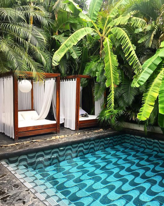 decoralinks | swimming pool at the Tribal hotel in Nicaragua