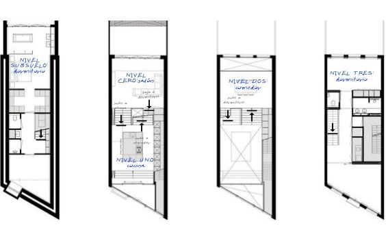 decoralinks | casa en amsterdam - floorplans