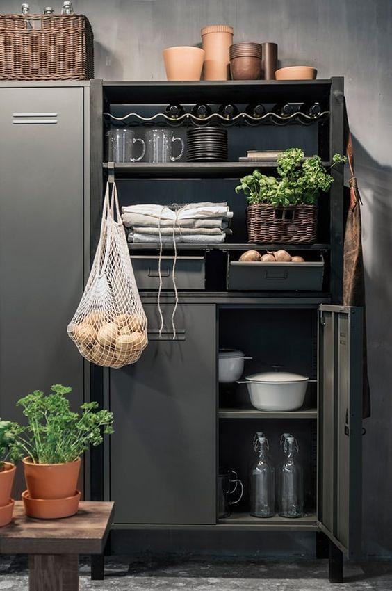 decoralinks   slate locker from ikea - model IVAR