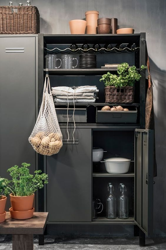 decoralinks | slate locker from ikea - model IVAR