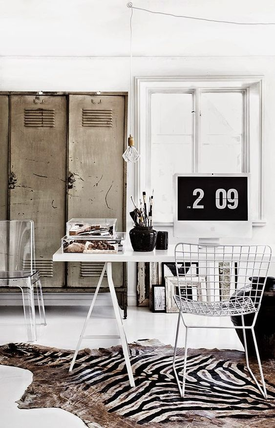decoralinks   taquillas metalicas - vintage locker at jenny Hjialmarsson Boldsen house