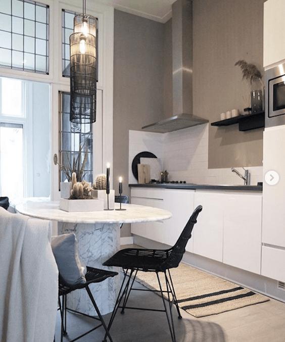 decoralinks | cocina en tonos ocre