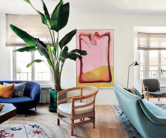 decoralinks | el color en el salon Feng shui