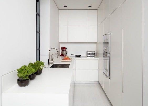 decoralinks | muebles blancos para cocinas tubulares