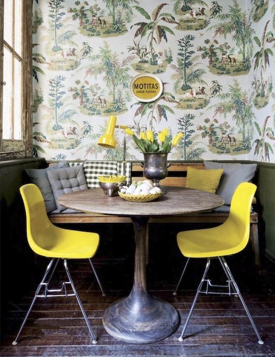 decoralinks | flores y jarrones - tulipanes amarillo