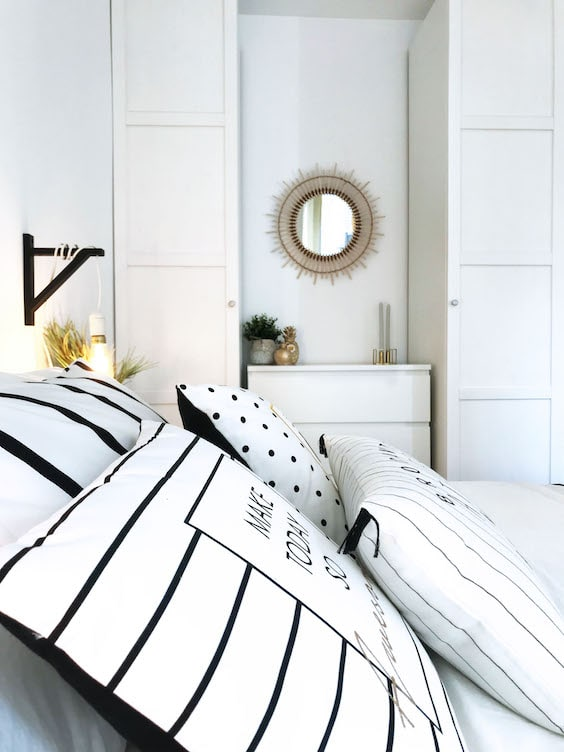 decoralinks | reforma piso alquiler - dormitorio low cost blanco