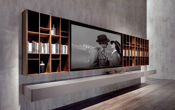 decoralinks   muebles contenedores para televisores de Acerbis