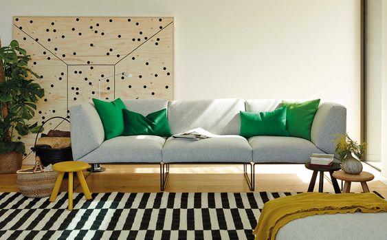decoralinks | sofa gris ligero pero robusto
