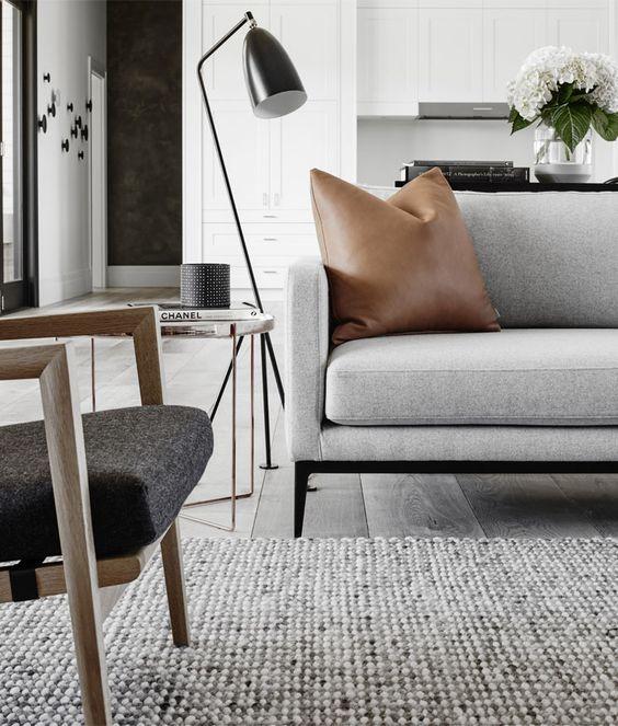 decoralinks - elegir un sofa - gris y ligero