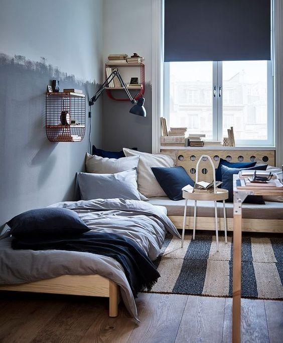 decoralinks | nueva temporada de Ikea y Zara Home - muebles metálicos en habitacion juvenil