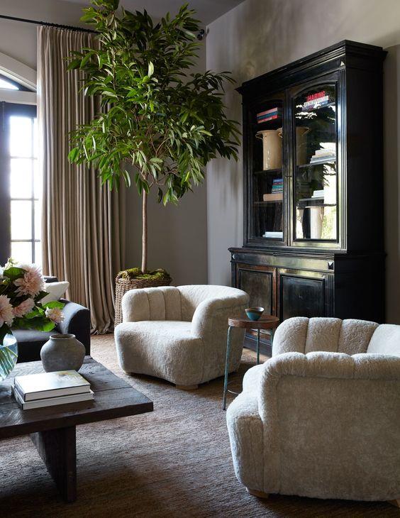 decoralinks | salón de Jessica Alba en Los Angeles
