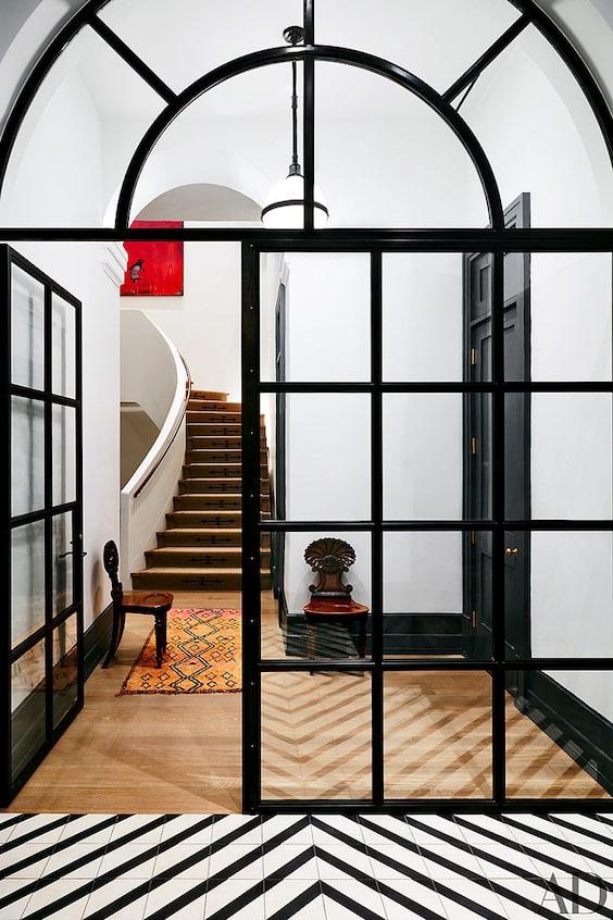decoralinks | casas de famosos - entrada al apto de Naomi Watts en NY