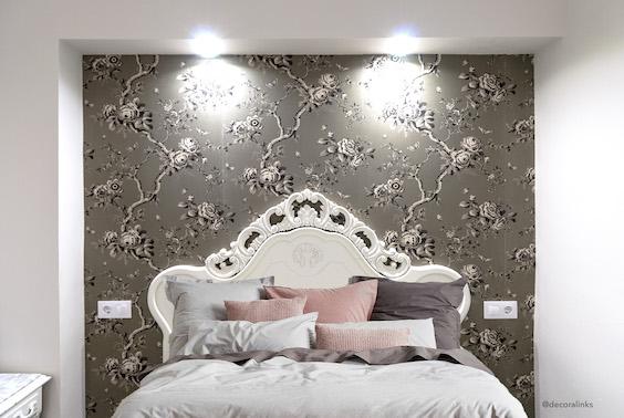 decoralinks | reforma piso, dormitorio cama reciclada y ropa cama lomonaco