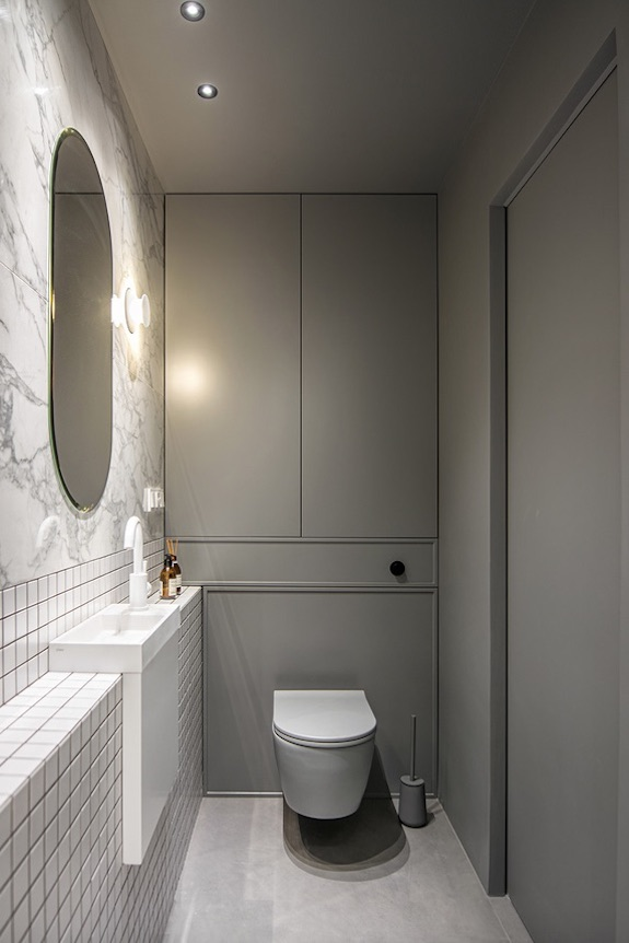 decoralinks | #casa #aseo #bathroom #minimalwashbasin #lavaboestrecho