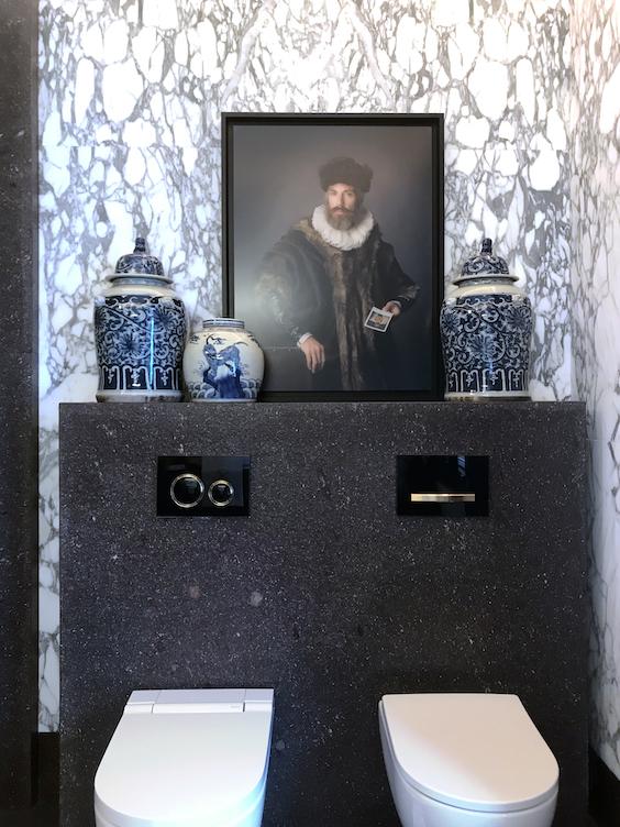 #bathroom #marmol #jarronesceramica #geberit