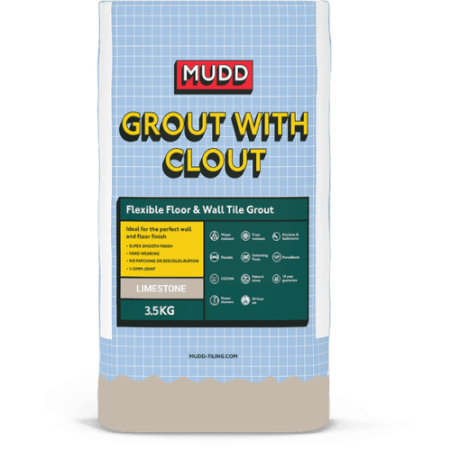 mudd grout with clout limestone water