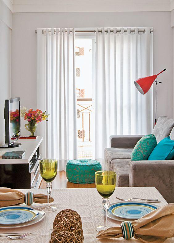 cortinas para salas pequenas 1