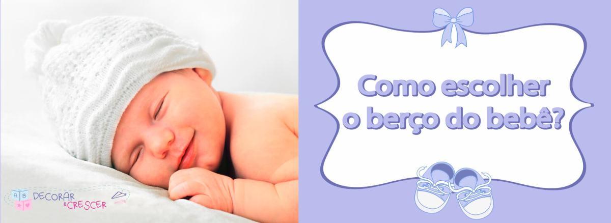 Como escolher o berço de bebê?