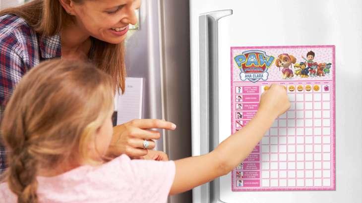 Quadro de incentivo Infantil