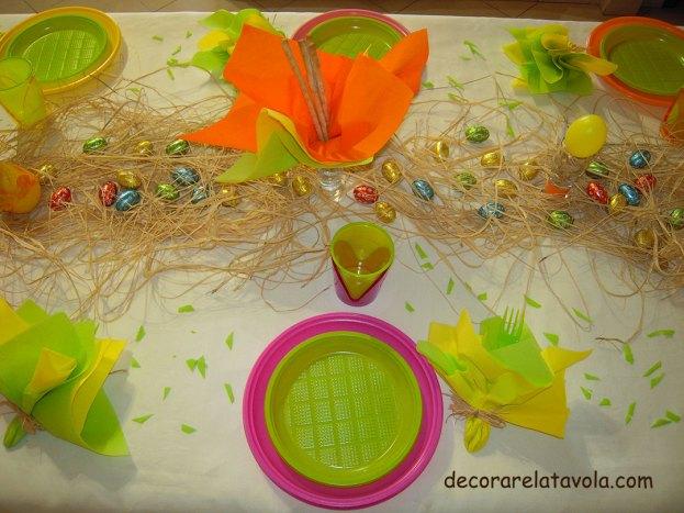 Pasqua come decorare la tavola