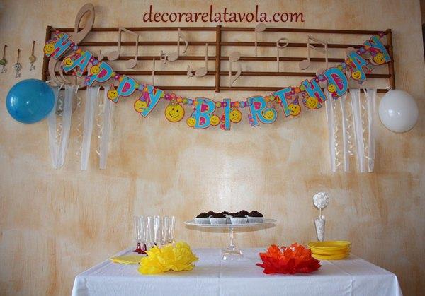 Decorazioni per festa compleanno
