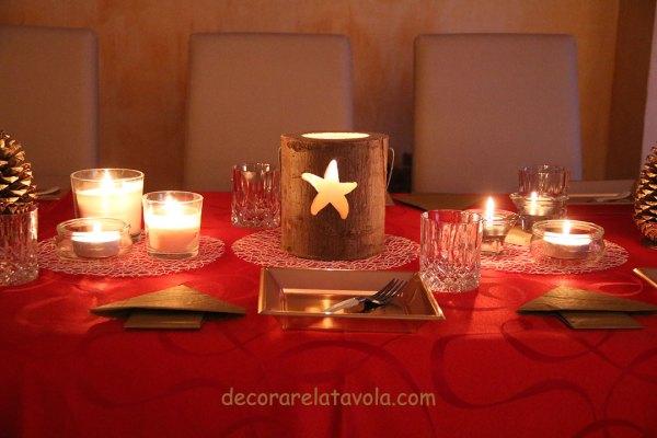 Come apparecchiare a Natale con le candele