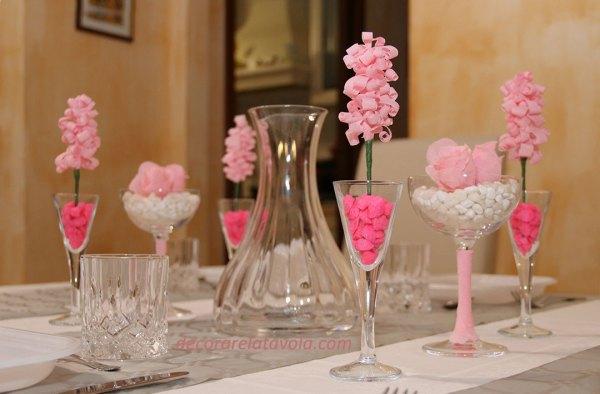 Idee tavola apparecchiata per festa della mamma