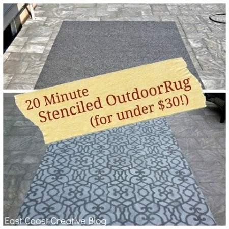Stenciled outdoor rug 3[4]