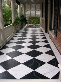 designs for painting cement floors
