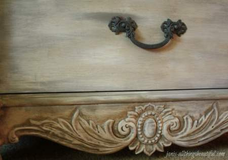 Even though a little goes a long way  and chalk paint will save a lot of  time  it can be more expensive than using latex paint  which you should  factor in. How to Antique Furniture   DIY Antiquing Furniture  Decorated Life