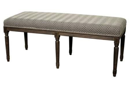 herringbone bench