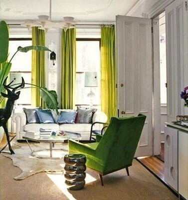 bright curtains