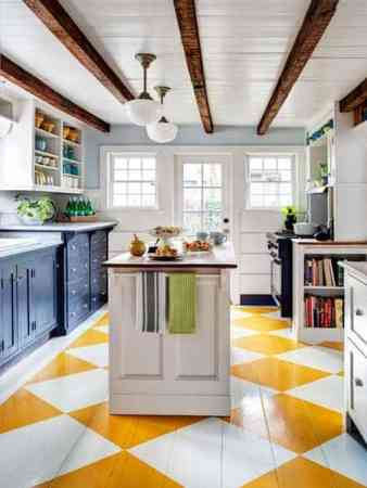 yellow and white checkerboard