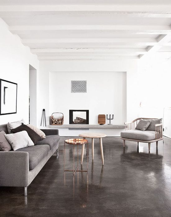 Muted Painted Concrete