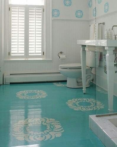 Source: Pinterest. One Huge Benefit Of Painting Your Concrete Floors ...