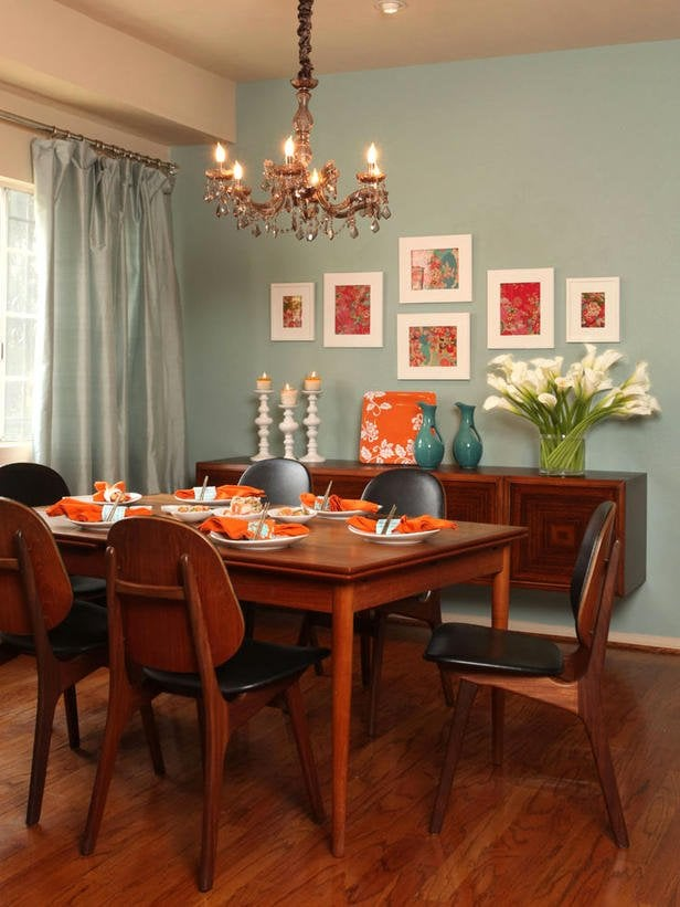 floating dining room buffet