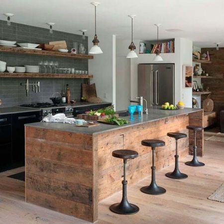 industrial kitchen theme