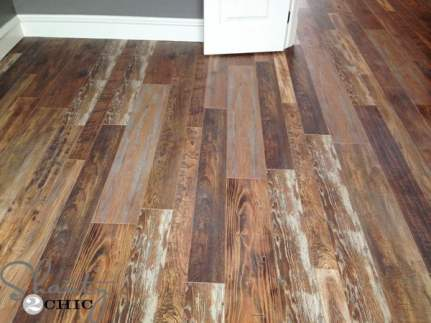 laminate reclaimed wood look