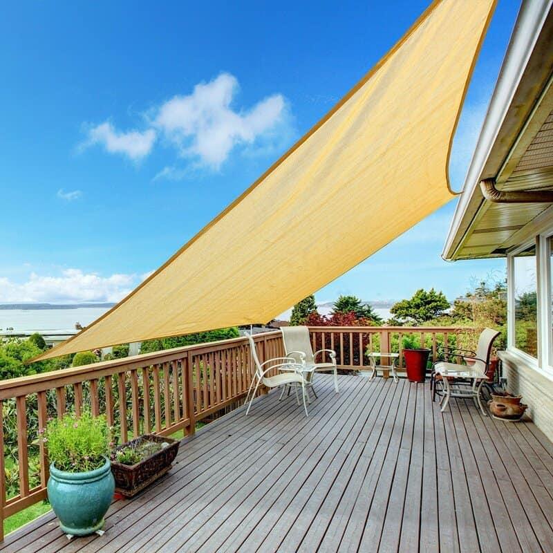 shady solution shade sails as awnings