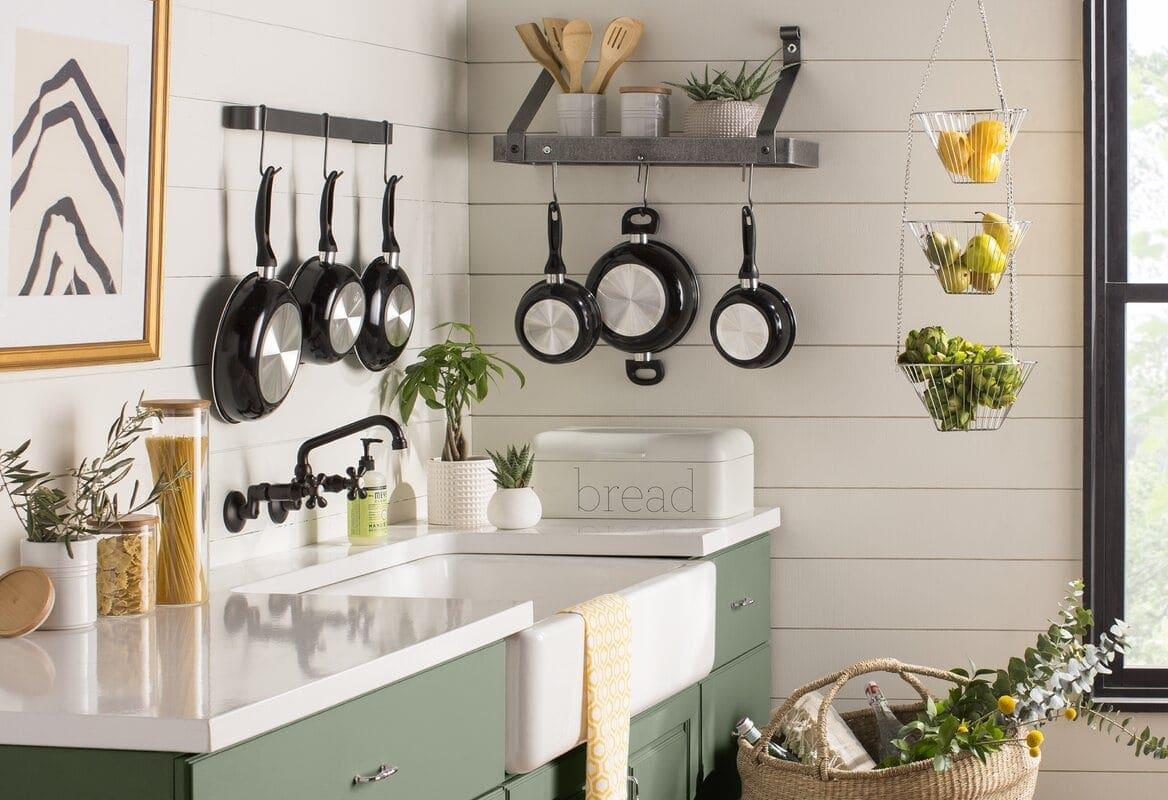 12 farmhouse kitchen ideas on a budget