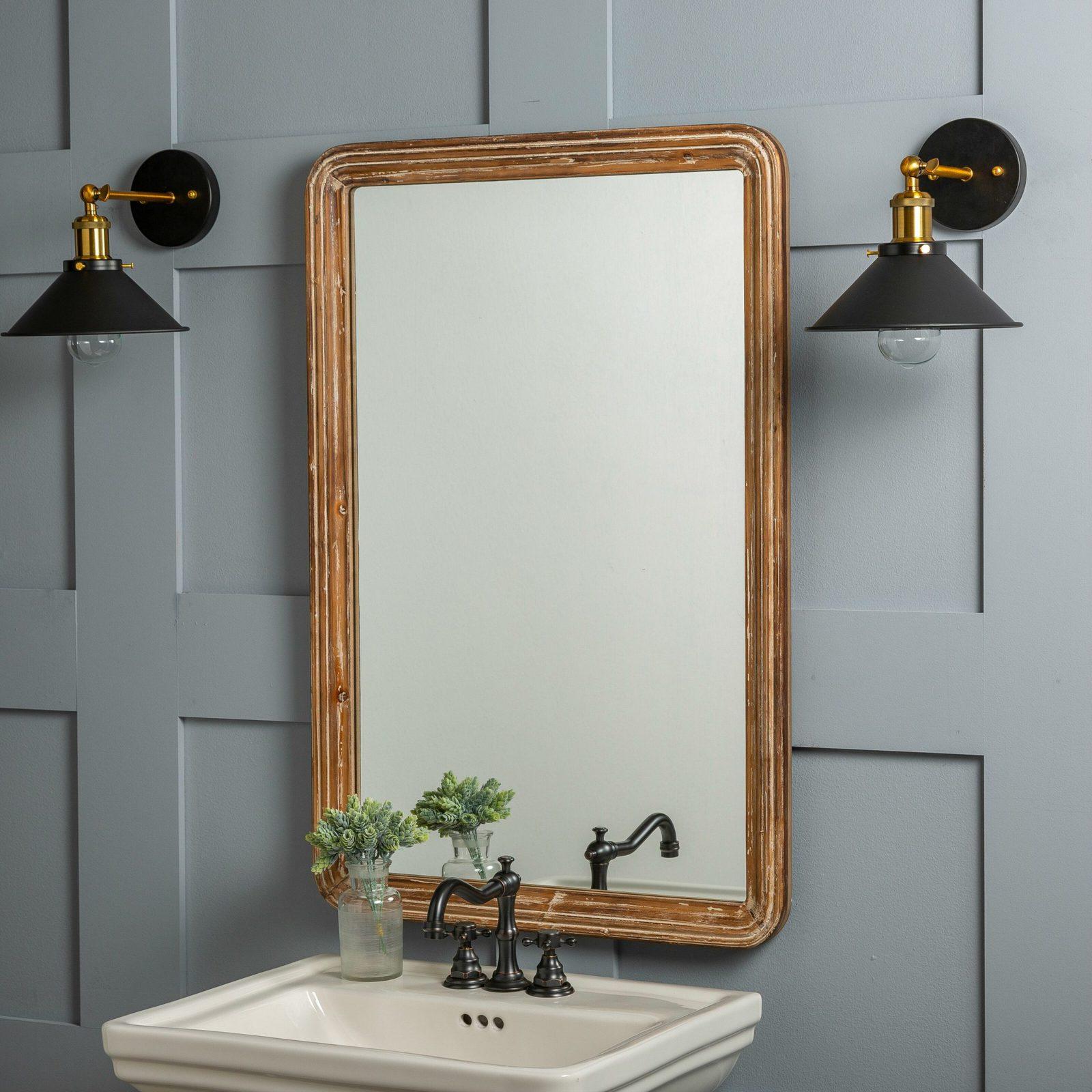 26 beautiful bathroom mirror ideas
