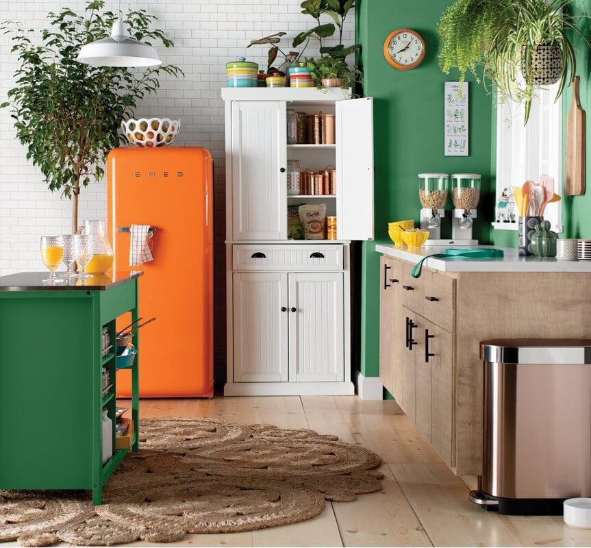 10 above fridge cabinet ideas