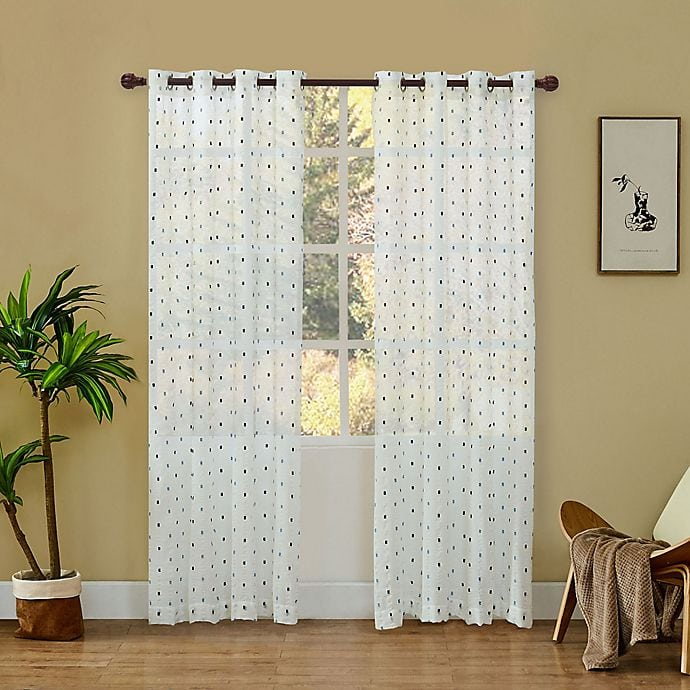 what color curtains go with yellow