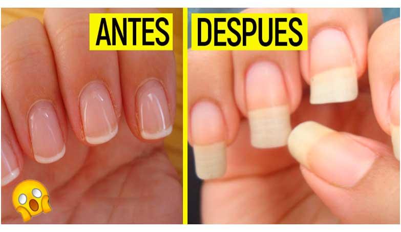 Esta Receta Secreta te Hara Crecer Las uñas Largas En 2 semanas