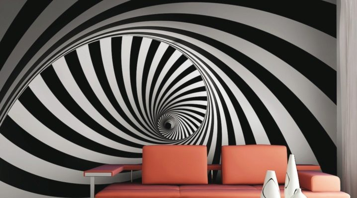 Corak Geometri Dinding Bilik Tidur
