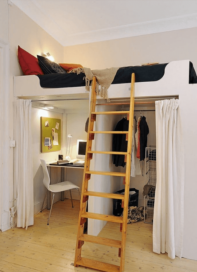 20+ Smart Space Saving Ideas For Your Tiny Bedroom